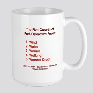 THE 5 CAUSES OF... Large Mug