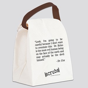 DR. COX QUOTE Canvas Lunch Bag