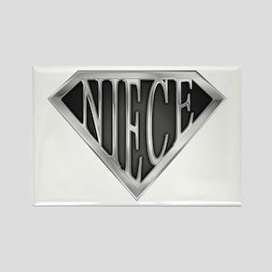 SuperNiece(metal) Rectangle Magnet