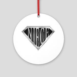 SuperNiece(metal) Ornament (Round)