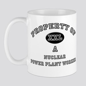 Property of a Nuclear Power Plant Worker Mug