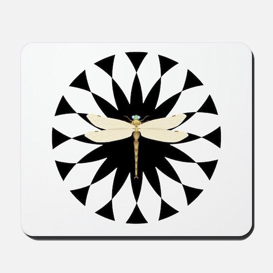 Dragonfly Pride Hypno-Mousepad