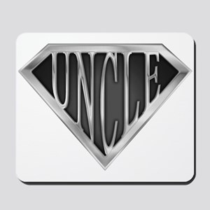 SuperUncle(metal) Mousepad
