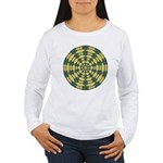 Green Pattern 001 Women's Long Sleeve T-Shirt