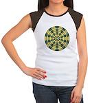 Green Pattern 001 Women's Cap Sleeve T-Shirt