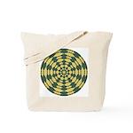 Green Pattern 001 Tote Bag