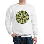 Green Pattern 001 Sweatshirt