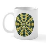 Green Pattern 001 Mug