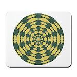 Green Pattern 001 Mousepad