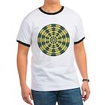 Green Pattern 001 Ringer T