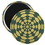 Green Pattern 001 Magnet