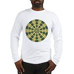 Green Pattern 001 Long Sleeve T-Shirt