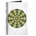 Green Pattern 001 Journal