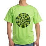 Green Pattern 001 Green T-Shirt