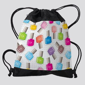 NAIL POLISH Drawstring Bag