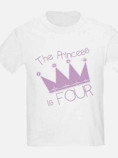 Princess I'm Four T-Shirt