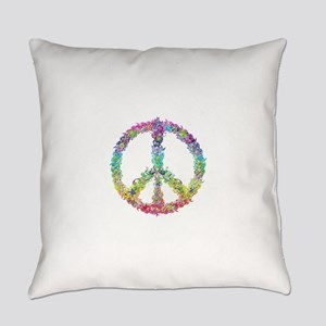 Peace of Peaces Everyday Pillow