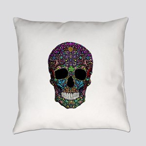 Colorskull Everyday Pillow