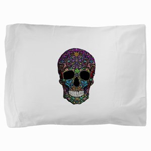 Colorskull Pillow Sham