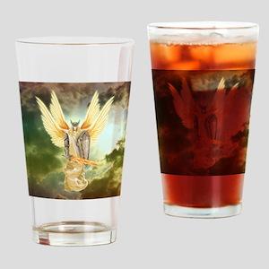 warrior angel Drinking Glass