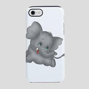 baby elephant iPhone 8/7 Tough Case