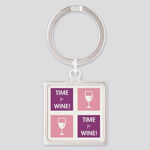 TIME FOR WINE! Keychains