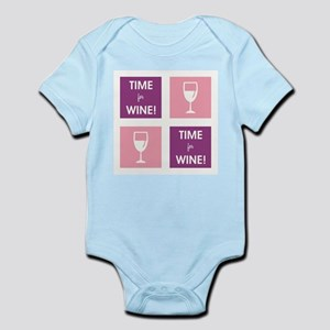 TIME FOR WINE! Body Suit