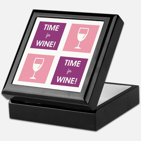 TIME FOR WINE! Keepsake Box