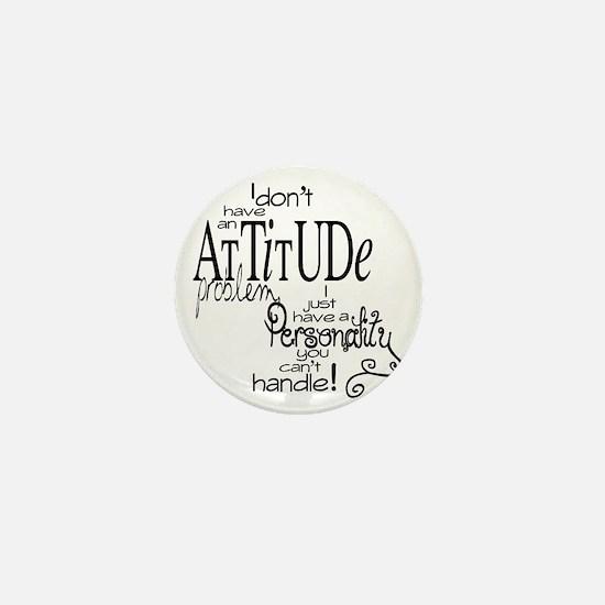 attitude prob Mini Button