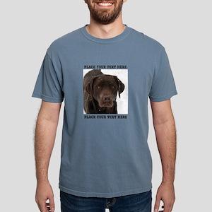 Dog Labrador Retriever Mens Comfort Colors Shirt