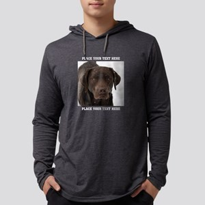 Dog Labrador Retriever Mens Hooded Shirt