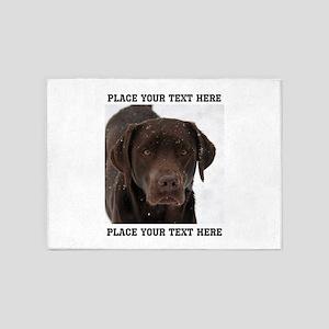 Dog Labrador Retriever 5'x7'Area Rug