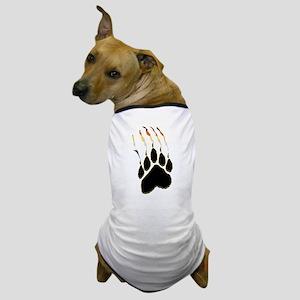 Bear Pride Paw Rip Dog T-Shirt