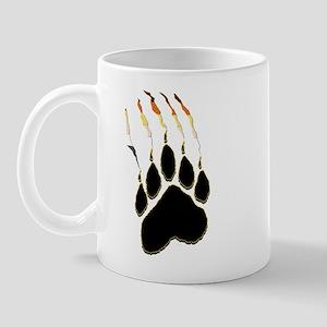 Bear Pride Paw Rip Mug