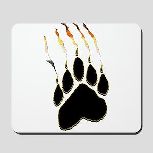Bear Pride Paw Rip Mousepad
