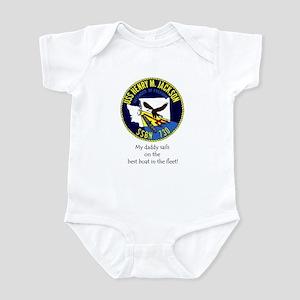 HMJ: Daddy sails on the Best Boat! Infant Bodysuit