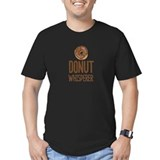 Donut Fitted Dark T-Shirts