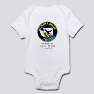 HMJ Gold Crew 2008 Infant Bodysuit