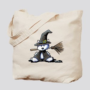 Westie WITCH Tote Bag