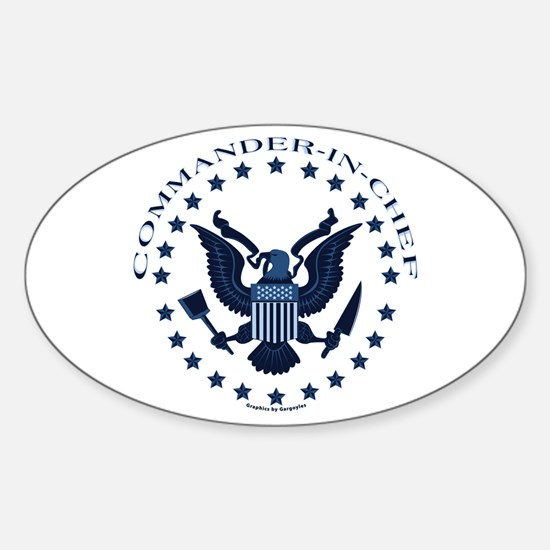 Commander-in-Chef Oval Decal