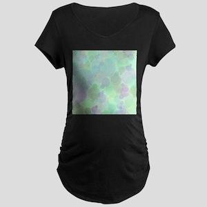 Bubbles Pattern Maternity T-Shirt