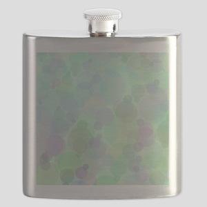 Bubbles Pattern Flask