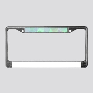 Bubbles Pattern License Plate Frame