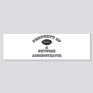 Property of a Network Administrator Sticker (Bumpe