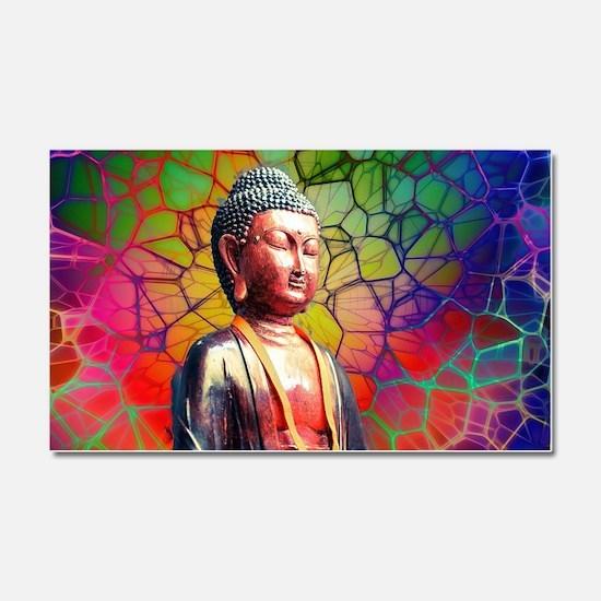 Cool Buddha Car Magnet 20 x 12
