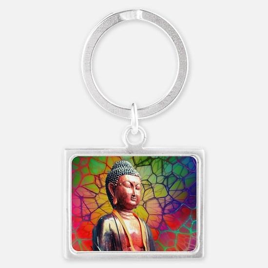 Funny Buddhism Landscape Keychain