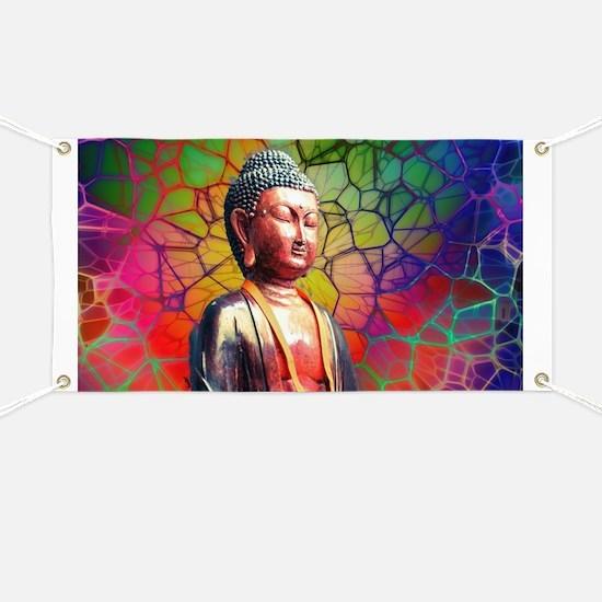 Unique Buddha Banner
