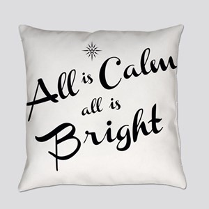All is Calm Everyday Pillow