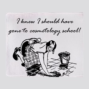 cosmetologyschool Throw Blanket
