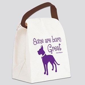 BORN GREAT Canvas Lunch Bag
